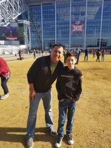 Manuel attended Big 12 Championship: Oklahoma Sooners vs. Baylor Bears - NCAA Football on Dec 7th 2019 via VetTix