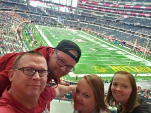 Roy attended Big 12 Championship: Oklahoma Sooners vs. Baylor Bears - NCAA Football on Dec 7th 2019 via VetTix