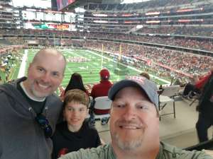 Jarrel attended Big 12 Championship: Oklahoma Sooners vs. Baylor Bears - NCAA Football on Dec 7th 2019 via VetTix