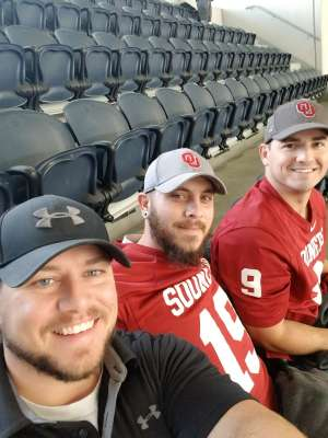 Brian attended Big 12 Championship: Oklahoma Sooners vs. Baylor Bears - NCAA Football on Dec 7th 2019 via VetTix
