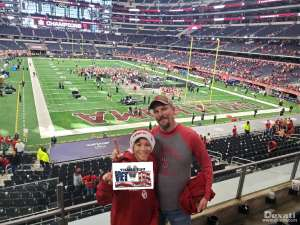 Ryan attended Big 12 Championship: Oklahoma Sooners vs. Baylor Bears - NCAA Football on Dec 7th 2019 via VetTix