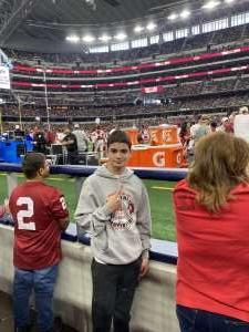 Chad attended Big 12 Championship: Oklahoma Sooners vs. Baylor Bears - NCAA Football on Dec 7th 2019 via VetTix