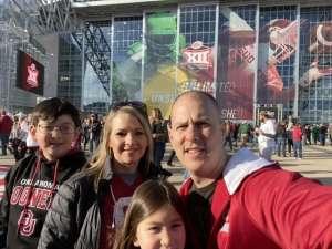 JAMES attended Big 12 Championship: Oklahoma Sooners vs. Baylor Bears - NCAA Football on Dec 7th 2019 via VetTix