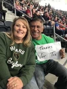 Franco attended Big 12 Championship: Oklahoma Sooners vs. Baylor Bears - NCAA Football on Dec 7th 2019 via VetTix