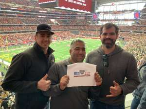 gonzalo attended Big 12 Championship: Oklahoma Sooners vs. Baylor Bears - NCAA Football on Dec 7th 2019 via VetTix