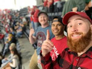 Thomas attended Big 12 Championship: Oklahoma Sooners vs. Baylor Bears - NCAA Football on Dec 7th 2019 via VetTix