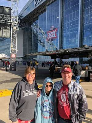Matt attended Big 12 Championship: Oklahoma Sooners vs. Baylor Bears - NCAA Football on Dec 7th 2019 via VetTix
