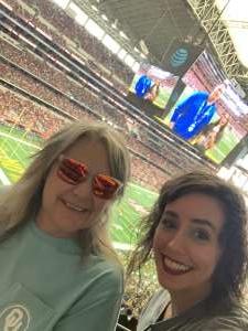 Courtney attended Big 12 Championship: Oklahoma Sooners vs. Baylor Bears - NCAA Football on Dec 7th 2019 via VetTix