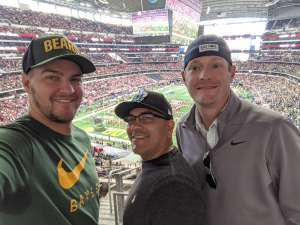 Shane attended Big 12 Championship: Oklahoma Sooners vs. Baylor Bears - NCAA Football on Dec 7th 2019 via VetTix