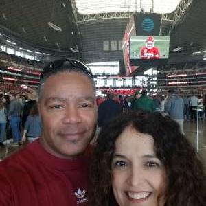 Roderick attended Big 12 Championship: Oklahoma Sooners vs. Baylor Bears - NCAA Football on Dec 7th 2019 via VetTix