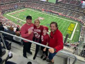 Daniel attended Big 12 Championship: Oklahoma Sooners vs. Baylor Bears - NCAA Football on Dec 7th 2019 via VetTix