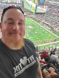 Randal attended Big 12 Championship: Oklahoma Sooners vs. Baylor Bears - NCAA Football on Dec 7th 2019 via VetTix