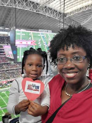 Kimberly attended Big 12 Championship: Oklahoma Sooners vs. Baylor Bears - NCAA Football on Dec 7th 2019 via VetTix