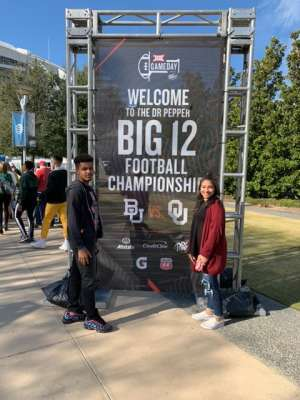 Dewayne attended Big 12 Championship: Oklahoma Sooners vs. Baylor Bears - NCAA Football on Dec 7th 2019 via VetTix