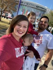 Steven attended Big 12 Championship: Oklahoma Sooners vs. Baylor Bears - NCAA Football on Dec 7th 2019 via VetTix
