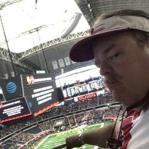 Daniel Ludwig Eufaula,OK attended Big 12 Championship: Oklahoma Sooners vs. Baylor Bears - NCAA Football on Dec 7th 2019 via VetTix