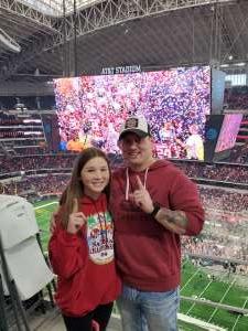 Ryne attended Big 12 Championship: Oklahoma Sooners vs. Baylor Bears - NCAA Football on Dec 7th 2019 via VetTix