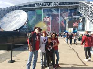 Darrell attended Big 12 Championship: Oklahoma Sooners vs. Baylor Bears - NCAA Football on Dec 7th 2019 via VetTix