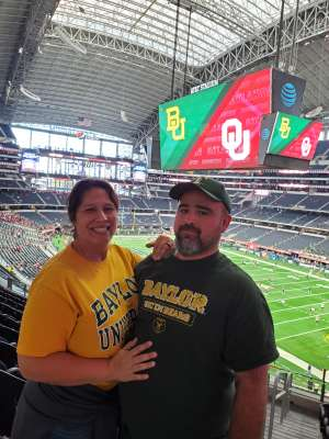 Julie attended Big 12 Championship: Oklahoma Sooners vs. Baylor Bears - NCAA Football on Dec 7th 2019 via VetTix
