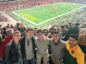 Gilberto attended Big 12 Championship: Oklahoma Sooners vs. Baylor Bears - NCAA Football on Dec 7th 2019 via VetTix