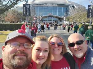 scott attended Big 12 Championship: Oklahoma Sooners vs. Baylor Bears - NCAA Football on Dec 7th 2019 via VetTix