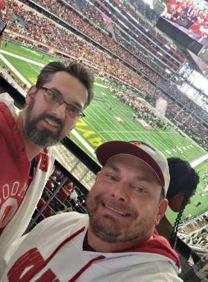 Brian attended Big 12 Championship: Oklahoma Sooners vs. Baylor Bears - NCAA Football on Dec 7th 2019 via VetTix