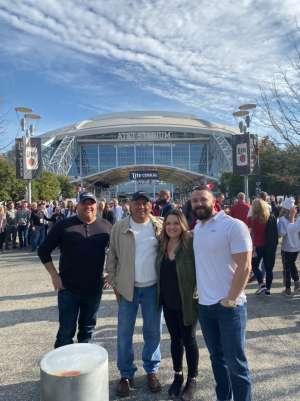 Larry attended Big 12 Championship: Oklahoma Sooners vs. Baylor Bears - NCAA Football on Dec 7th 2019 via VetTix