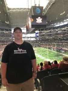 Brent attended Big 12 Championship: Oklahoma Sooners vs. Baylor Bears - NCAA Football on Dec 7th 2019 via VetTix