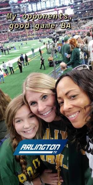Tammy attended Big 12 Championship: Oklahoma Sooners vs. Baylor Bears - NCAA Football on Dec 7th 2019 via VetTix