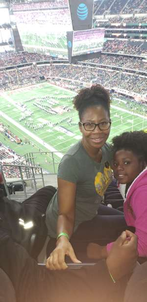 Christina attended Big 12 Championship: Oklahoma Sooners vs. Baylor Bears - NCAA Football on Dec 7th 2019 via VetTix