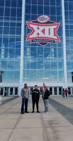 Jennifer attended Big 12 Championship: Oklahoma Sooners vs. Baylor Bears - NCAA Football on Dec 7th 2019 via VetTix
