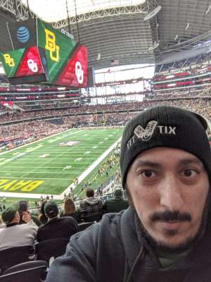 JB BIG 12 Championship attended Big 12 Championship: Oklahoma Sooners vs. Baylor Bears - NCAA Football on Dec 7th 2019 via VetTix