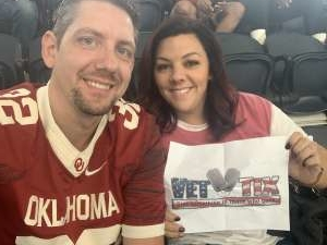Kristy attended Big 12 Championship: Oklahoma Sooners vs. Baylor Bears - NCAA Football on Dec 7th 2019 via VetTix