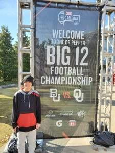Timothy attended Big 12 Championship: Oklahoma Sooners vs. Baylor Bears - NCAA Football on Dec 7th 2019 via VetTix