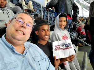 Dean attended Big 12 Championship: Oklahoma Sooners vs. Baylor Bears - NCAA Football on Dec 7th 2019 via VetTix