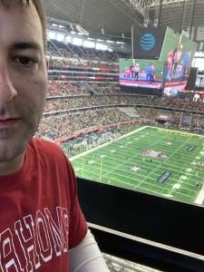 Roderick attended Big 12 Championship: Oklahoma Sooners vs. Baylor Bears - NCAA Football on Dec 7th 2019 via VetTix