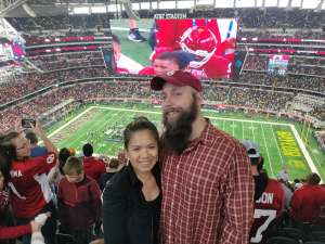 Luke attended Big 12 Championship: Oklahoma Sooners vs. Baylor Bears - NCAA Football on Dec 7th 2019 via VetTix