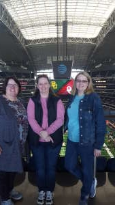 Kimberly attended Big 12 Championship: Oklahoma Sooners vs. Baylor Bears - NCAA Football on Dec 7th 2019 via VetTix