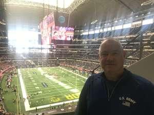 Jay attended Big 12 Championship: Oklahoma Sooners vs. Baylor Bears - NCAA Football on Dec 7th 2019 via VetTix