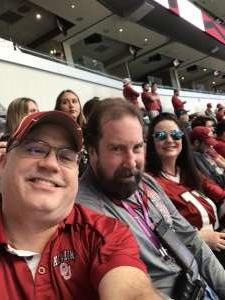 Bill attended Big 12 Championship: Oklahoma Sooners vs. Baylor Bears - NCAA Football on Dec 7th 2019 via VetTix
