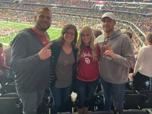 Zachary attended Big 12 Championship: Oklahoma Sooners vs. Baylor Bears - NCAA Football on Dec 7th 2019 via VetTix