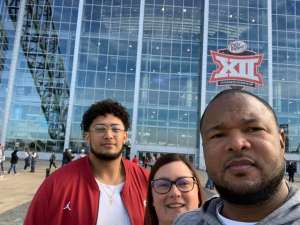 Steven attended Big 12 Championship: Oklahoma Sooners vs. Baylor Bears - NCAA Football on Dec 7th 2019 via VetTix