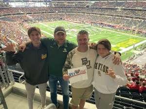 Jim attended Big 12 Championship: Oklahoma Sooners vs. Baylor Bears - NCAA Football on Dec 7th 2019 via VetTix