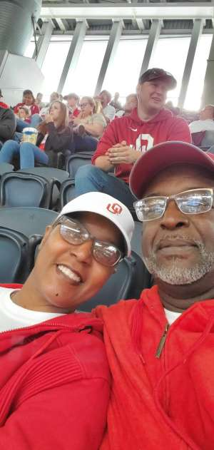 Samuel attended Big 12 Championship: Oklahoma Sooners vs. Baylor Bears - NCAA Football on Dec 7th 2019 via VetTix