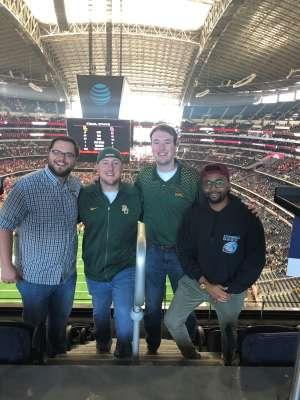 Casey  attended Big 12 Championship: Oklahoma Sooners vs. Baylor Bears - NCAA Football on Dec 7th 2019 via VetTix