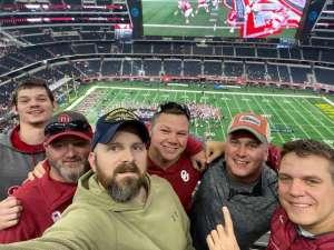 Josh Williams attended Big 12 Championship: Oklahoma Sooners vs. Baylor Bears - NCAA Football on Dec 7th 2019 via VetTix
