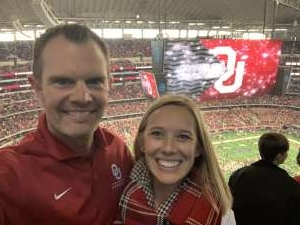 Adam attended Big 12 Championship: Oklahoma Sooners vs. Baylor Bears - NCAA Football on Dec 7th 2019 via VetTix