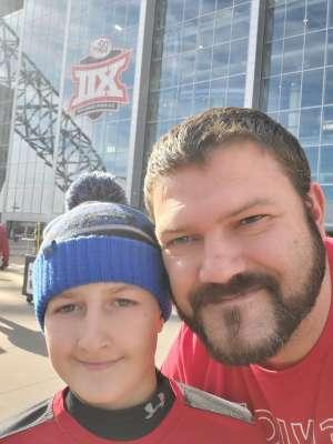 Cody attended Big 12 Championship: Oklahoma Sooners vs. Baylor Bears - NCAA Football on Dec 7th 2019 via VetTix