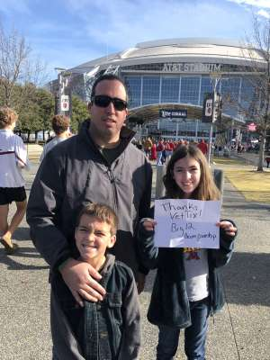 Kenneth attended Big 12 Championship: Oklahoma Sooners vs. Baylor Bears - NCAA Football on Dec 7th 2019 via VetTix