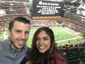 KW attended Big 12 Championship: Oklahoma Sooners vs. Baylor Bears - NCAA Football on Dec 7th 2019 via VetTix
